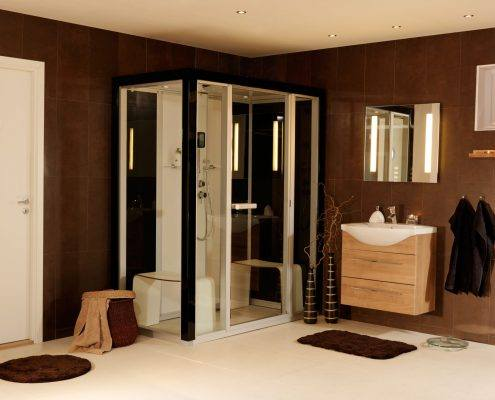 I170-black-h1-495x400 Tvaika dušas kabīnes TYLO